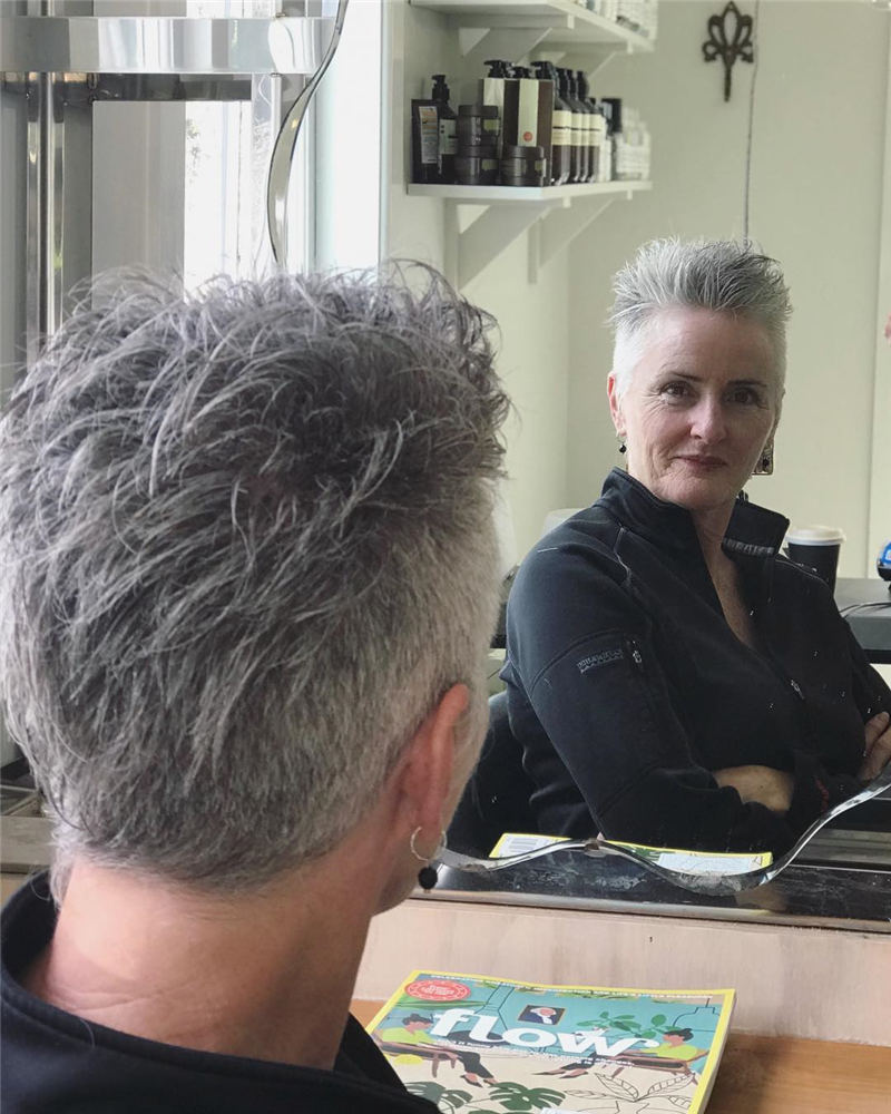 Pretty Short Grey Haircuts You Should Try Now 39
