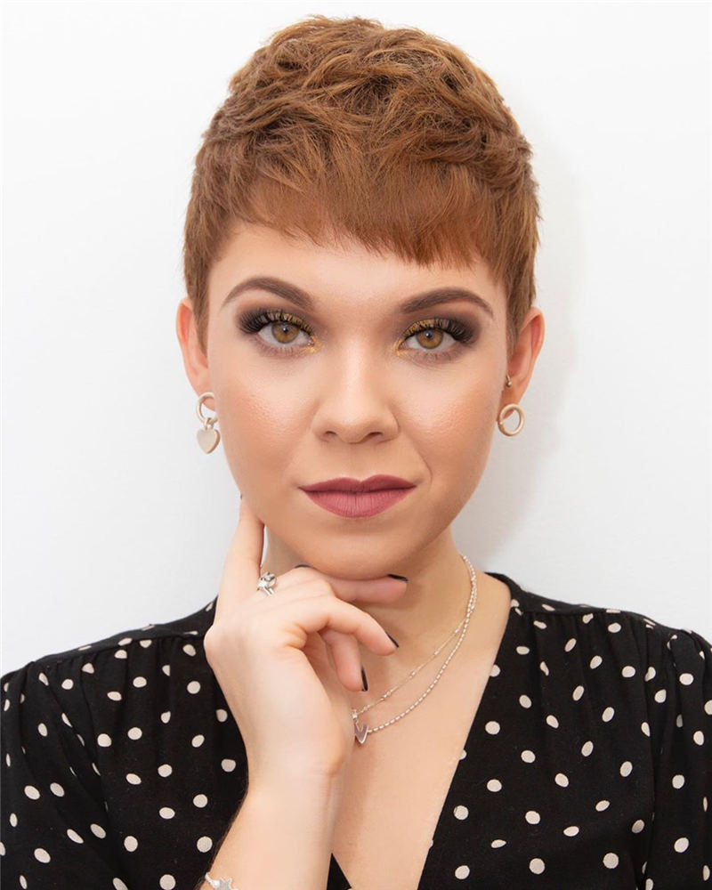 Stunning Pixie Haircuts That Make You Look Younger 40