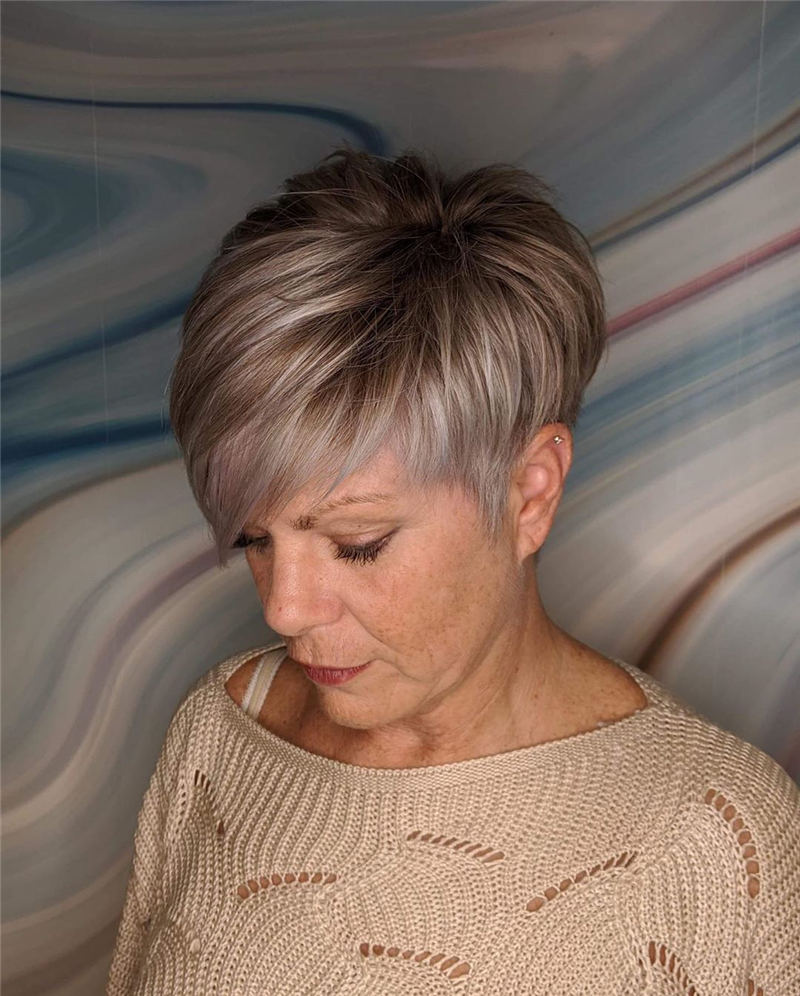 Stunning Pixie Haircuts That Make You Look Younger 50