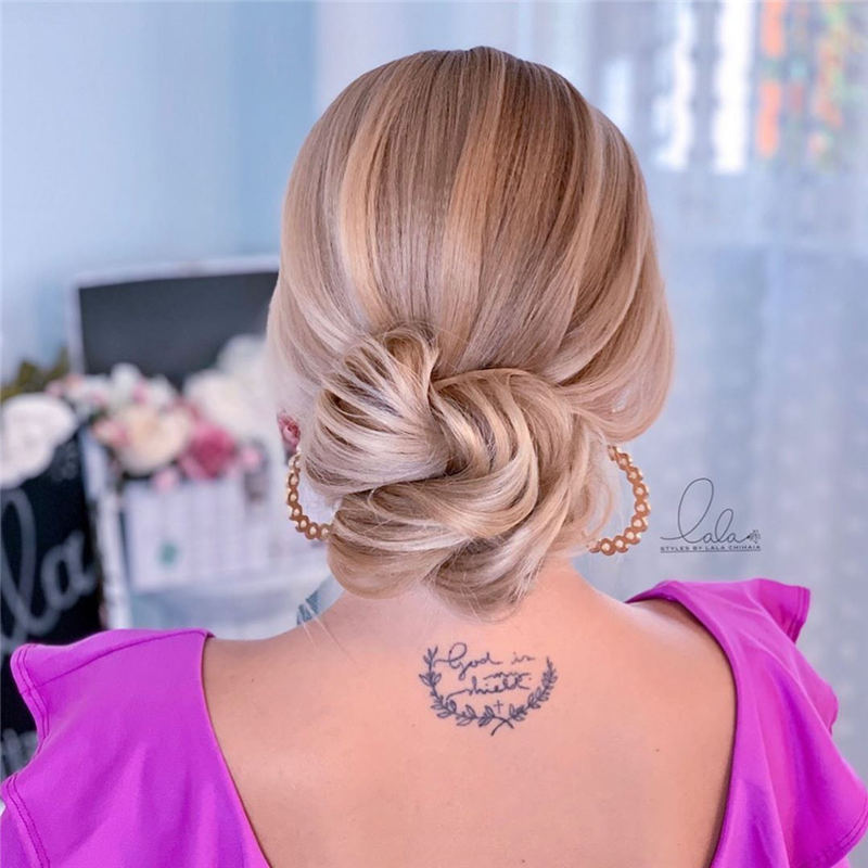 Winning Looks with These Amazing Updos 13