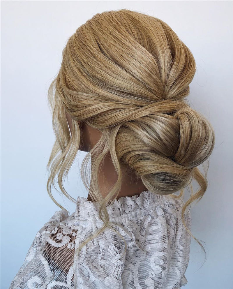 Amazing Wedding Hairstyles Ideas to Get a Beautiful Look 03