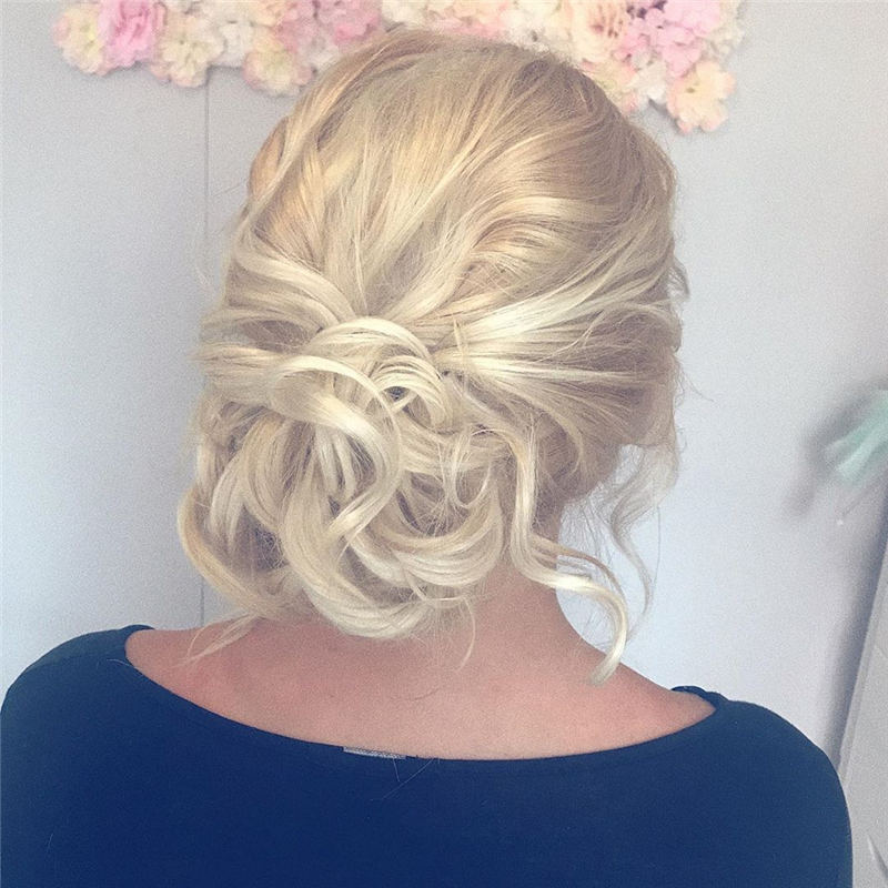Amazing Wedding Hairstyles Ideas to Get a Beautiful Look 05