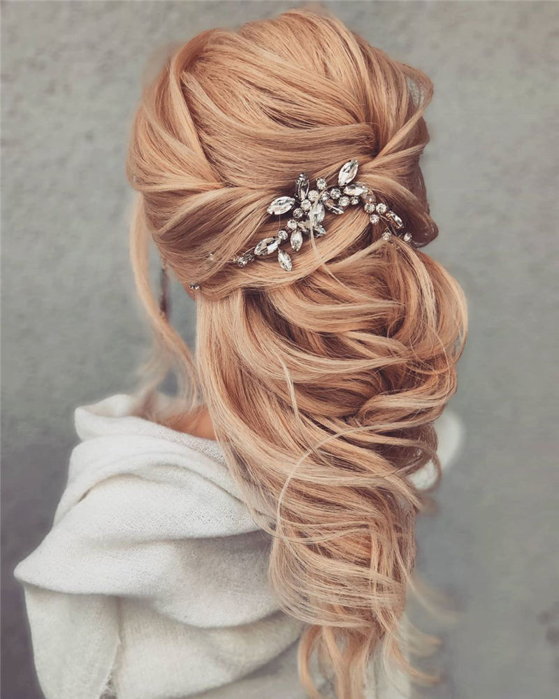 Amazing Wedding Hairstyles Ideas to Get a Beautiful Look 06