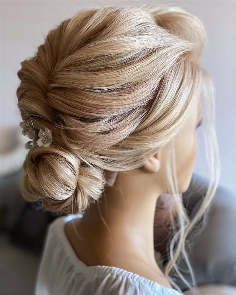 Amazing Wedding Hairstyles Ideas to Get a Beautiful Look 10