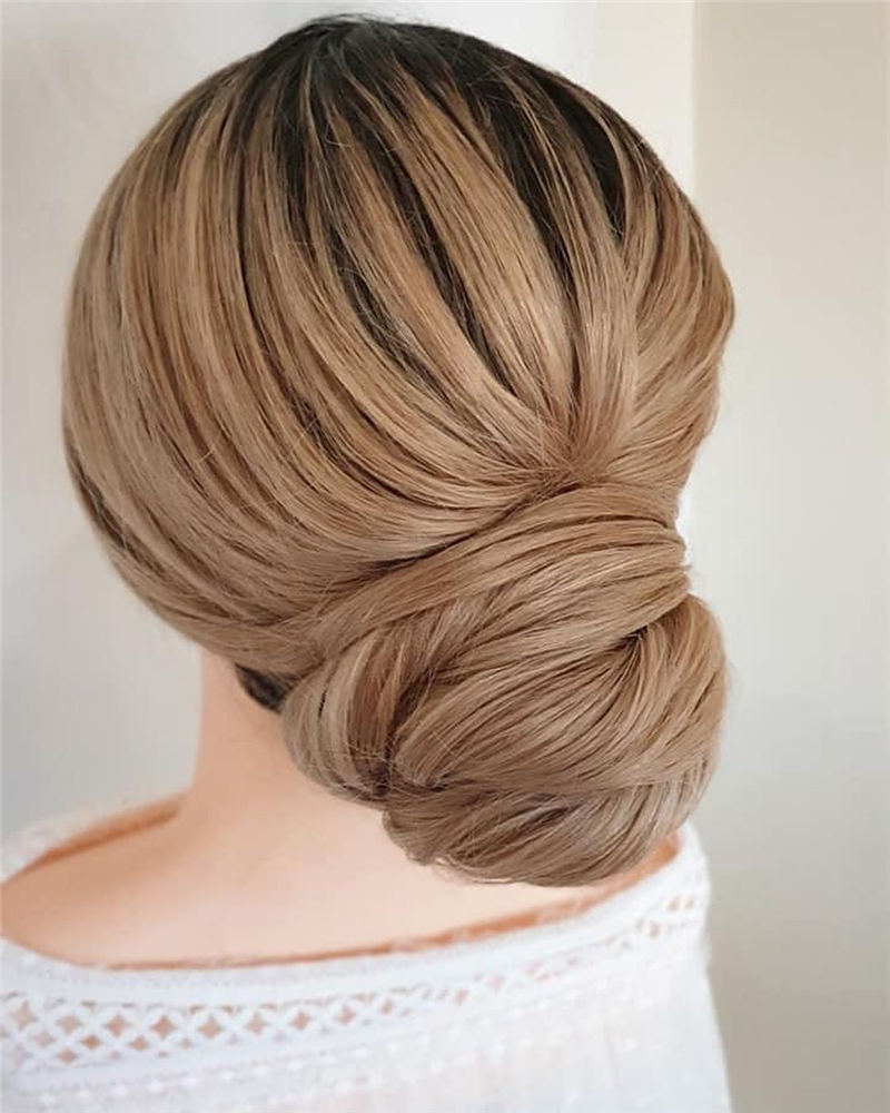 Amazing Wedding Hairstyles Ideas to Get a Beautiful Look 11