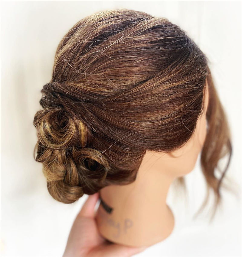 Amazing Wedding Hairstyles Ideas to Get a Beautiful Look 13