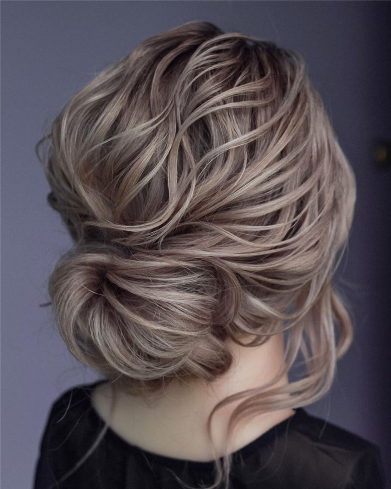 Amazing Wedding Hairstyles Ideas to Get a Beautiful Look 16