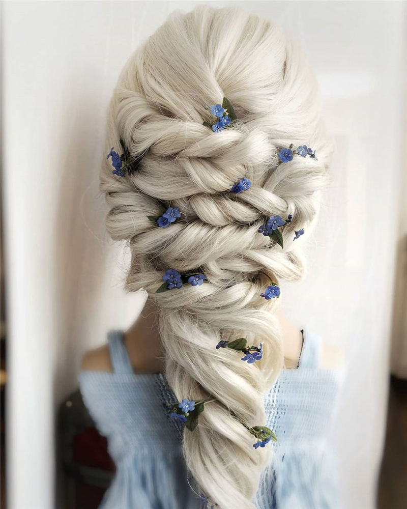 Amazing Wedding Hairstyles Ideas to Get a Beautiful Look 17