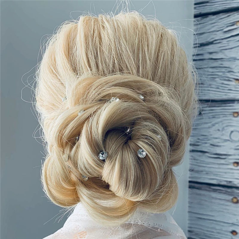 Amazing Wedding Hairstyles Ideas to Get a Beautiful Look 18