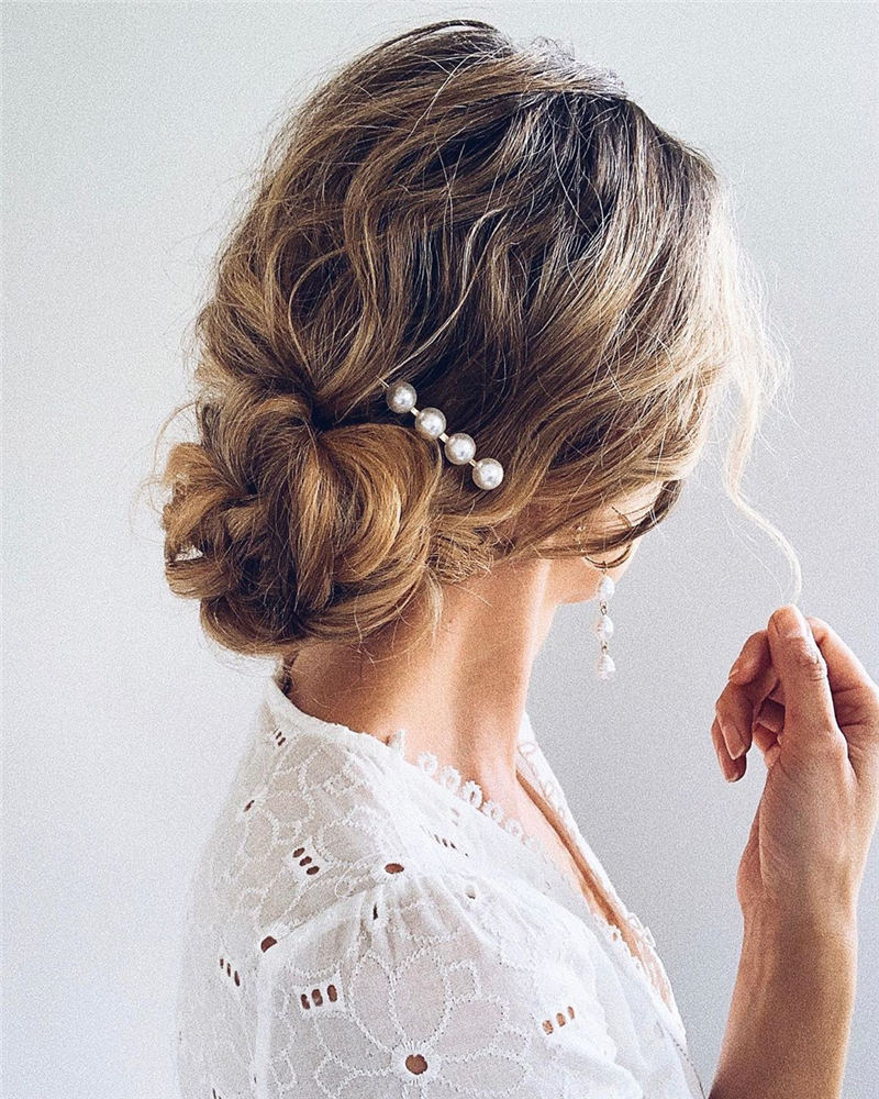 Amazing Wedding Hairstyles Ideas to Get a Beautiful Look 19