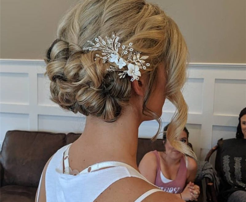 Amazing Wedding Hairstyles Ideas to Get a Beautiful Look 23