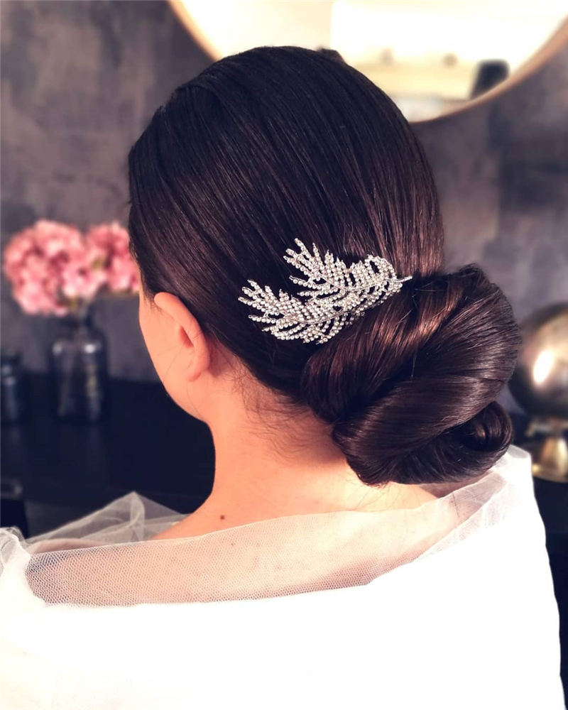 Amazing Wedding Hairstyles Ideas to Get a Beautiful Look 25