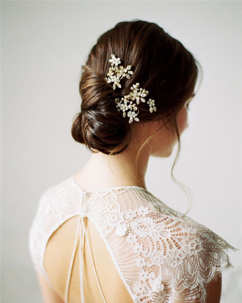Amazing Wedding Hairstyles Ideas to Get a Beautiful Look 27