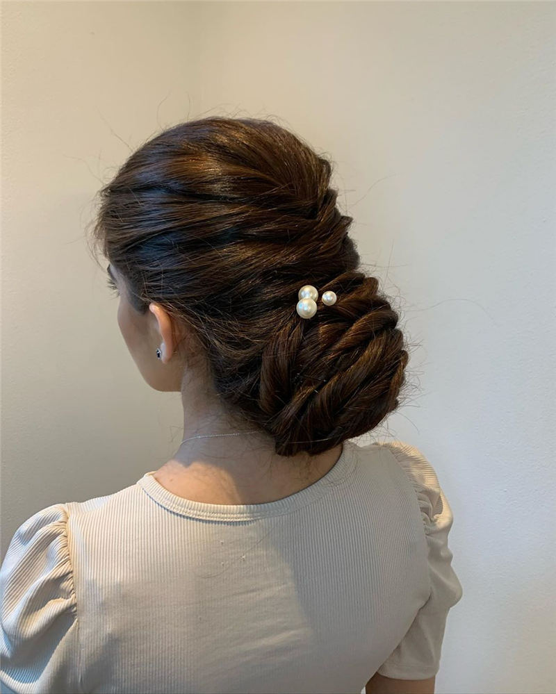 Amazing Wedding Hairstyles Ideas to Get a Beautiful Look 28