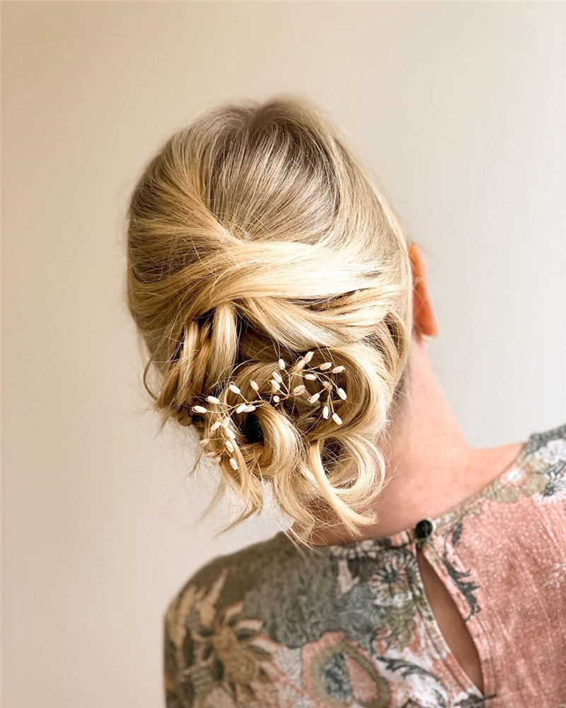 Amazing Wedding Hairstyles Ideas to Get a Beautiful Look 29