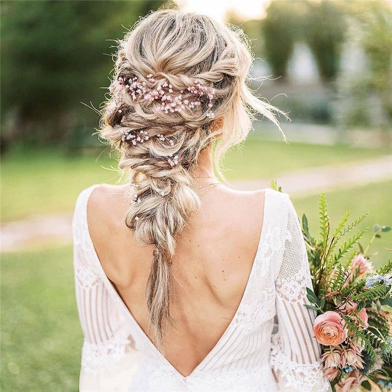 Amazing Wedding Hairstyles Ideas to Get a Beautiful Look 32