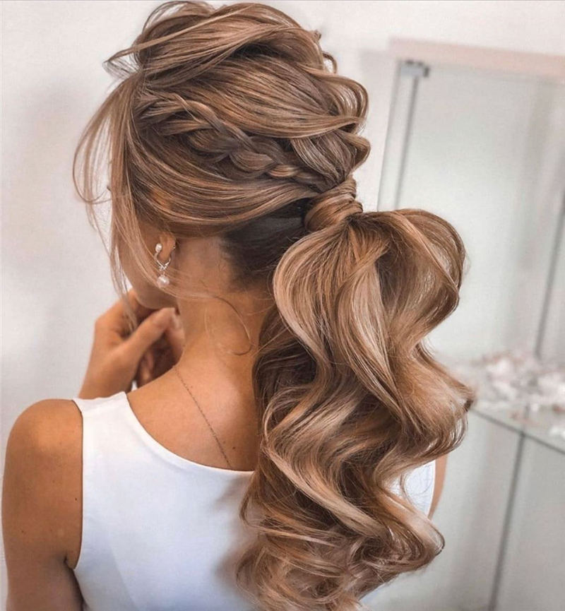 Amazing Wedding Hairstyles Ideas to Get a Beautiful Look 34