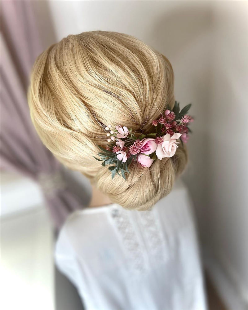 Amazing Wedding Hairstyles Ideas to Get a Beautiful Look 35