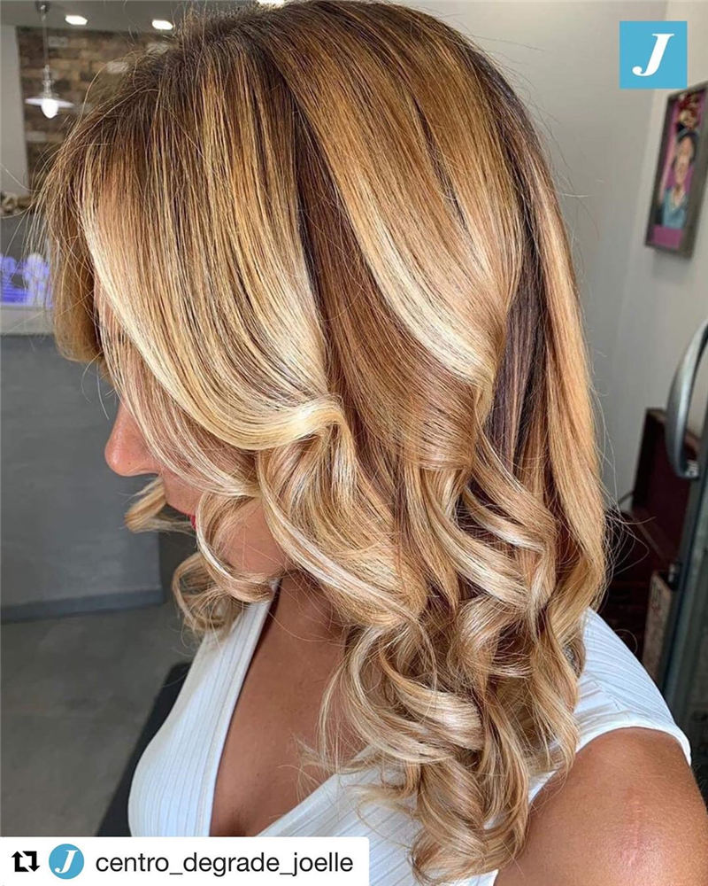 Best Medium Length Hairstyles to Refresh Your Style 24
