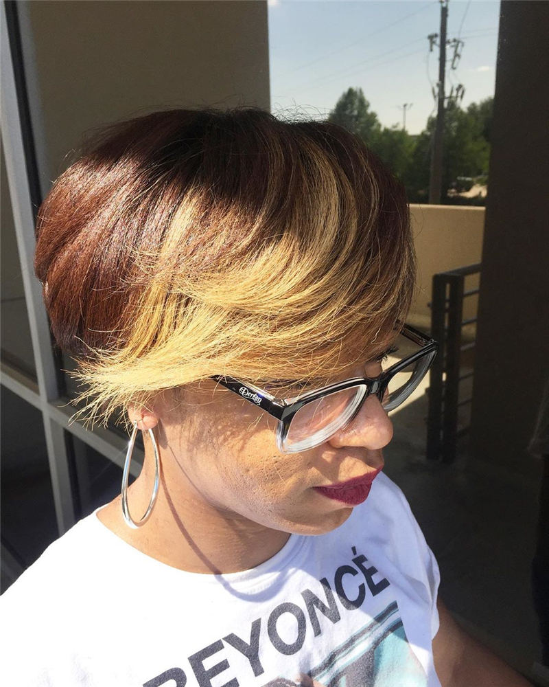 Cool Short Hairstyles For Women Who Want To Look Stylish 19