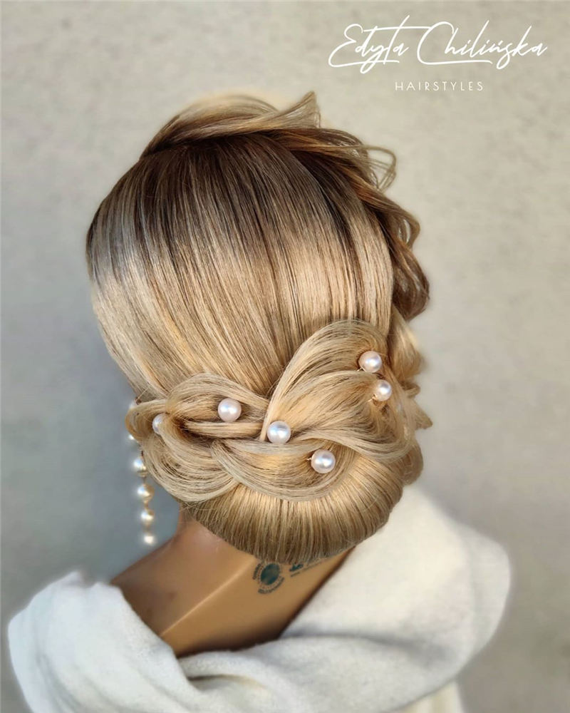 New Great Wedding Hairstyles for Your Big Day 2020 04