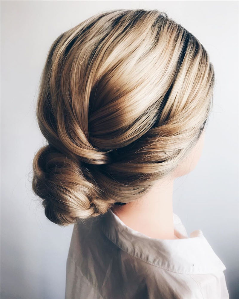 New Great Wedding Hairstyles for Your Big Day 2020 05