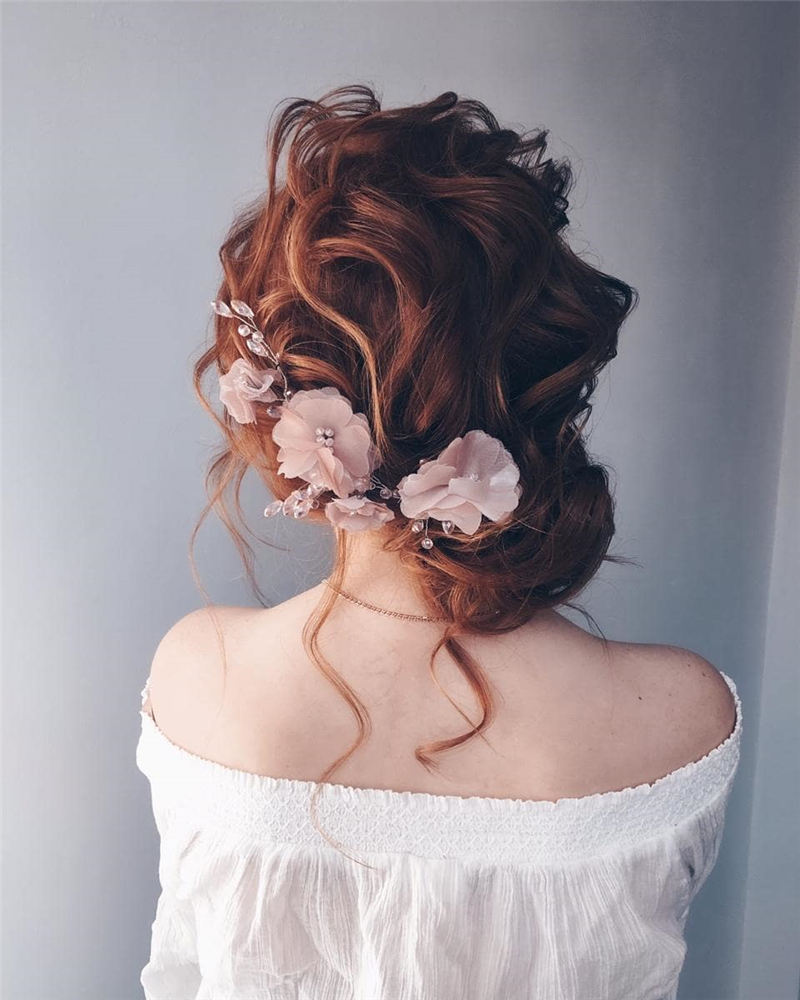 New Great Wedding Hairstyles for Your Big Day 2020 09