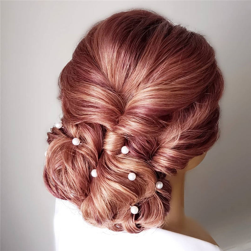 New Great Wedding Hairstyles for Your Big Day 2020 12