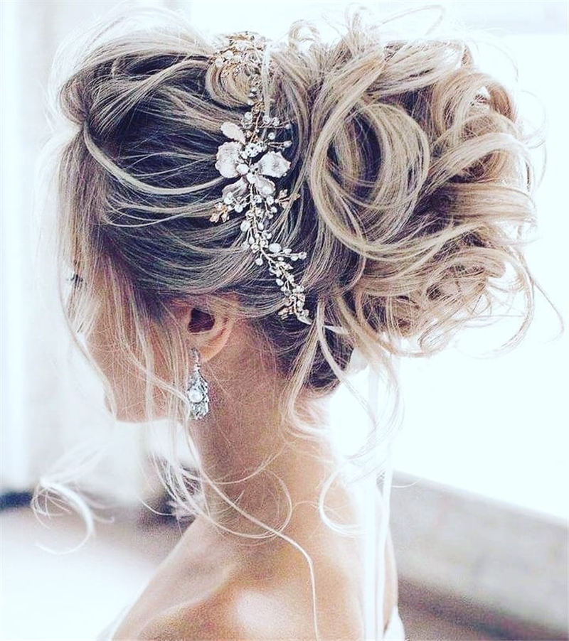 New Great Wedding Hairstyles for Your Big Day 2020 18