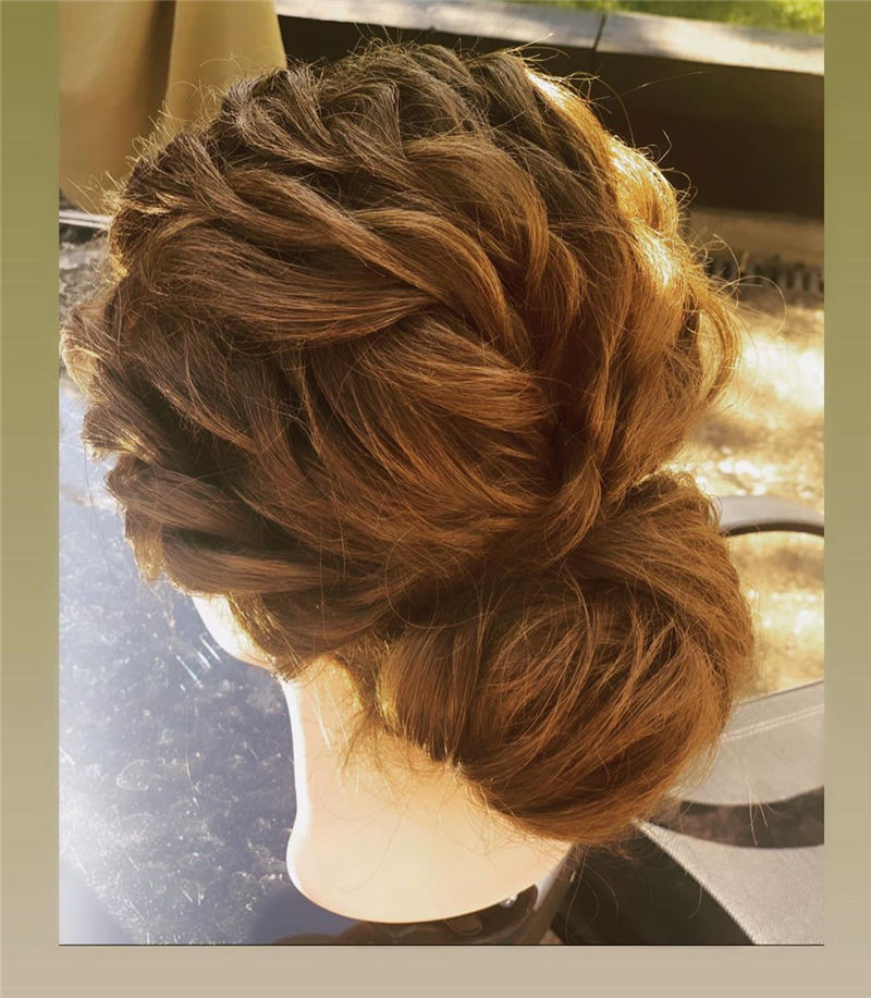 New Great Wedding Hairstyles for Your Big Day 2020 23