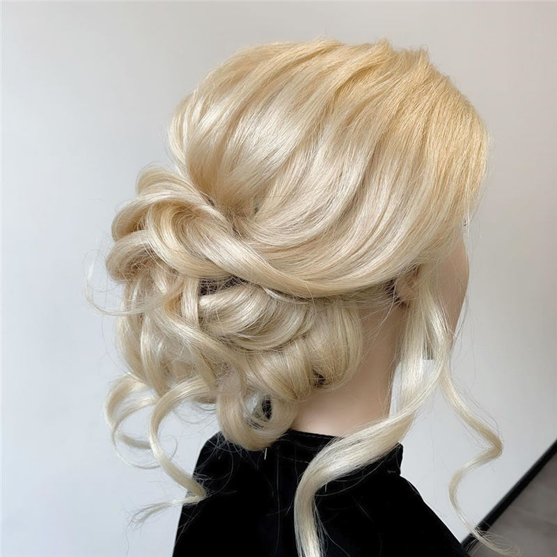 New Great Wedding Hairstyles for Your Big Day 2020 25