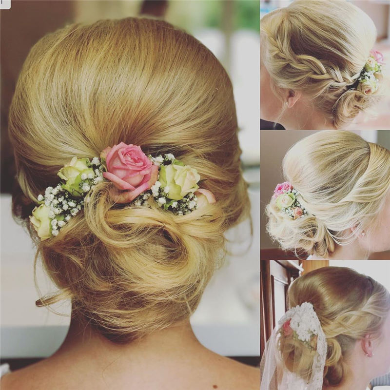 New Great Wedding Hairstyles for Your Big Day 2020 26