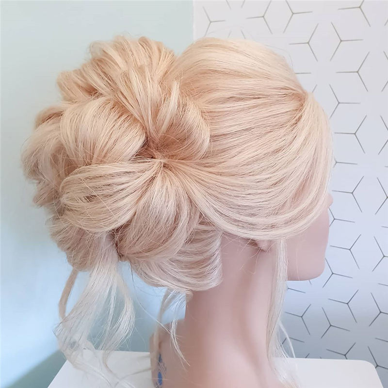 New Great Wedding Hairstyles for Your Big Day 2020 35