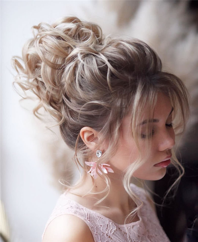 New Great Wedding Hairstyles for Your Big Day 2020 36