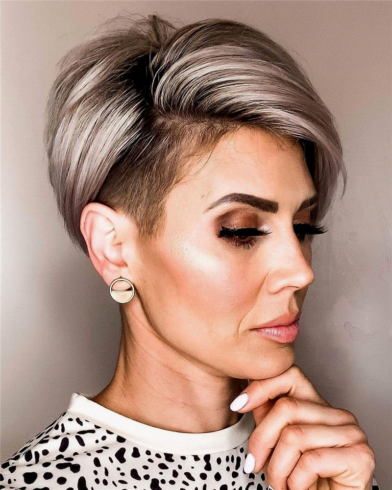 Stylish And Pretty Pixie Haircuts to Look Cool This Year 39
