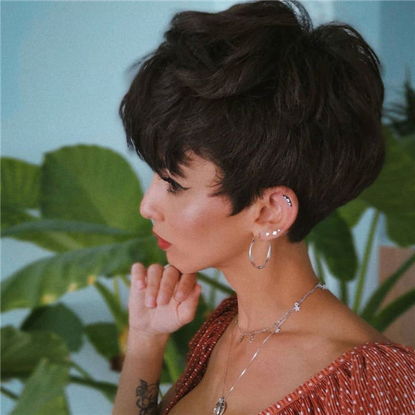 Cool Short Hairstyles for Summer 2020 09