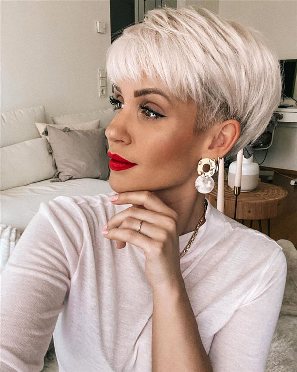 Cool Short Hairstyles for Summer 2020 12