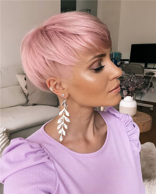 Cool Short Hairstyles for Summer 2020 17