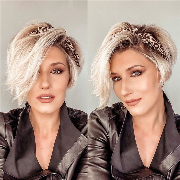 Cool Short Hairstyles for Summer 2020 26