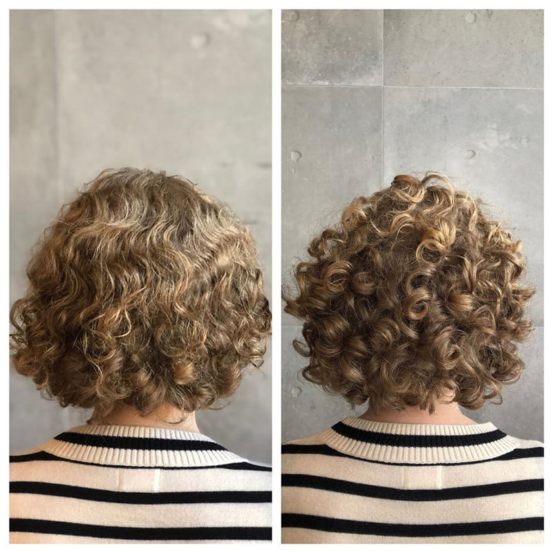 Most Stylish Short Curly Hairstyles for Women 04