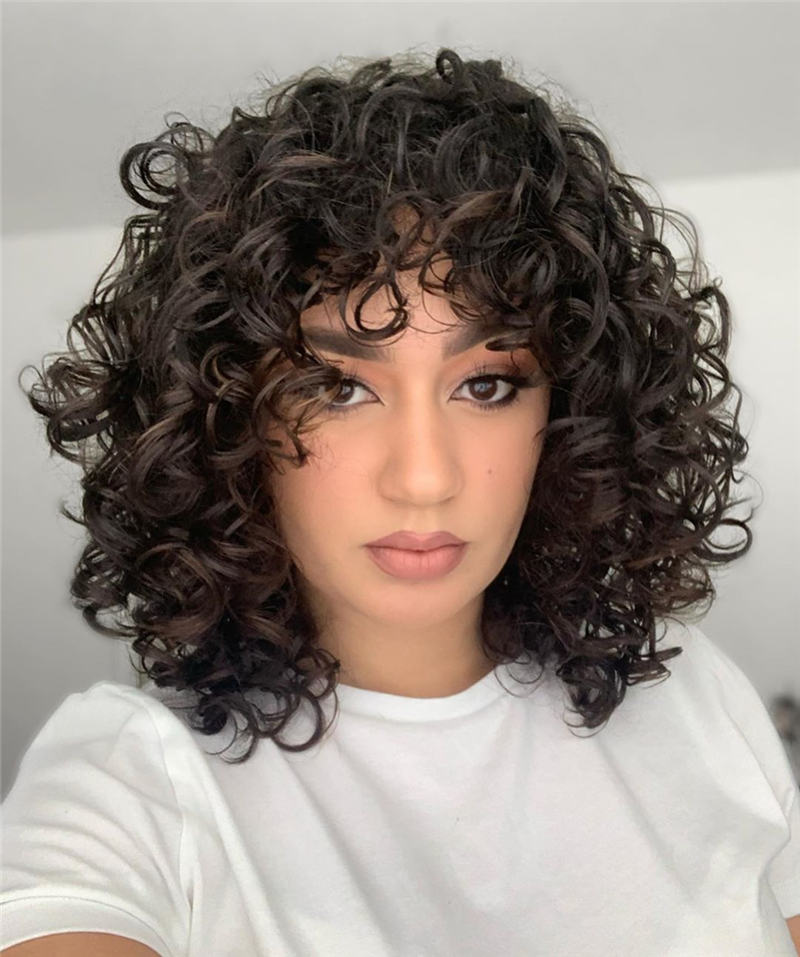 Most Stylish Short Curly Hairstyles for Women 19