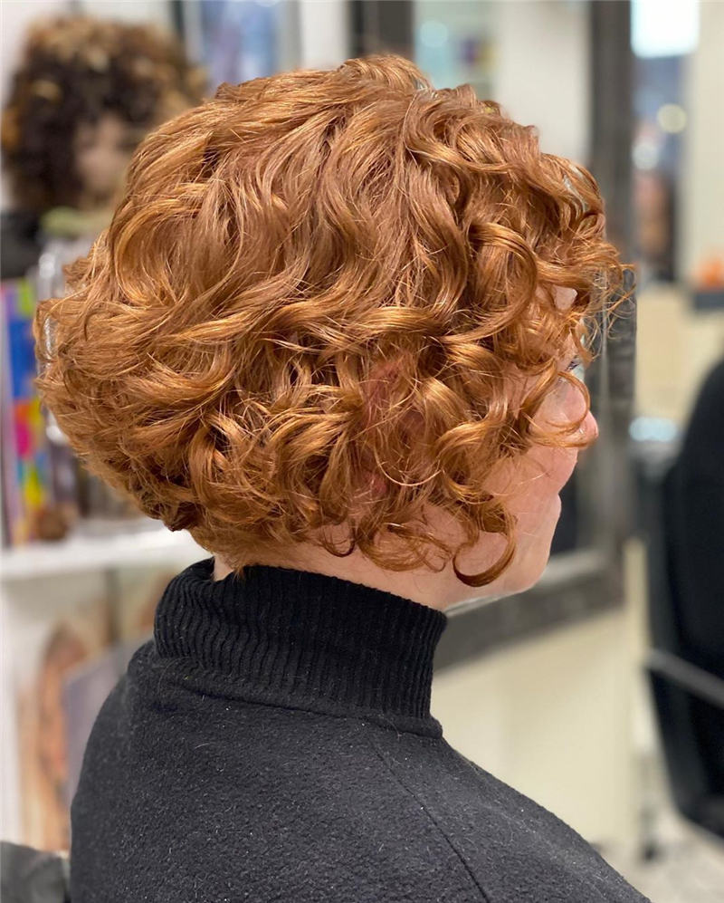 Most Stylish Short Curly Hairstyles for Women 25