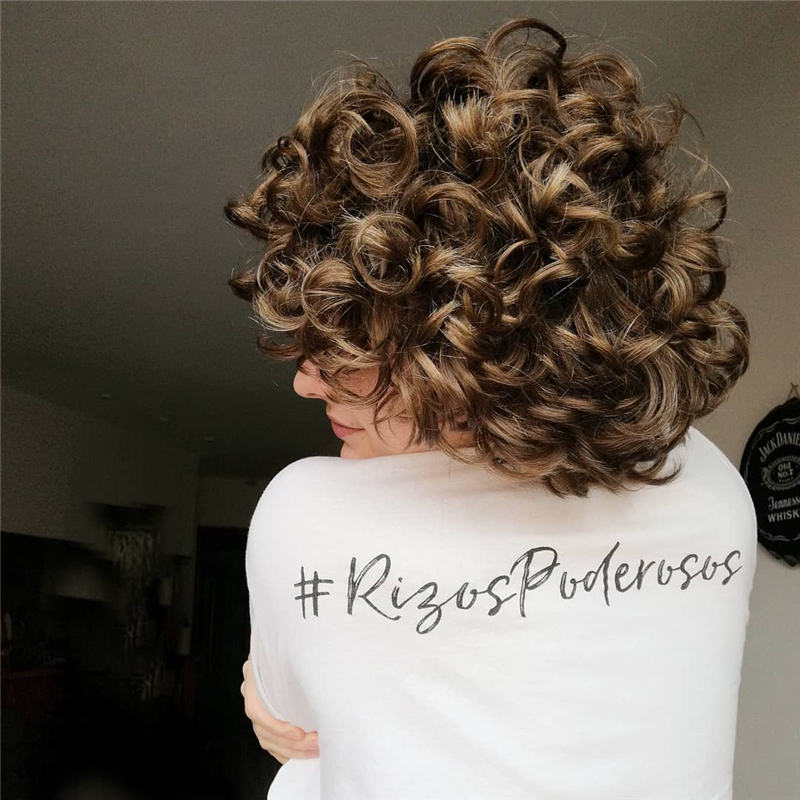 Most Stylish Short Curly Hairstyles for Women 44