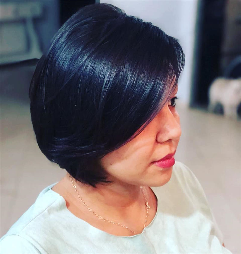 Best Short Bob Hairstyles Haircuts You Need to Try 06