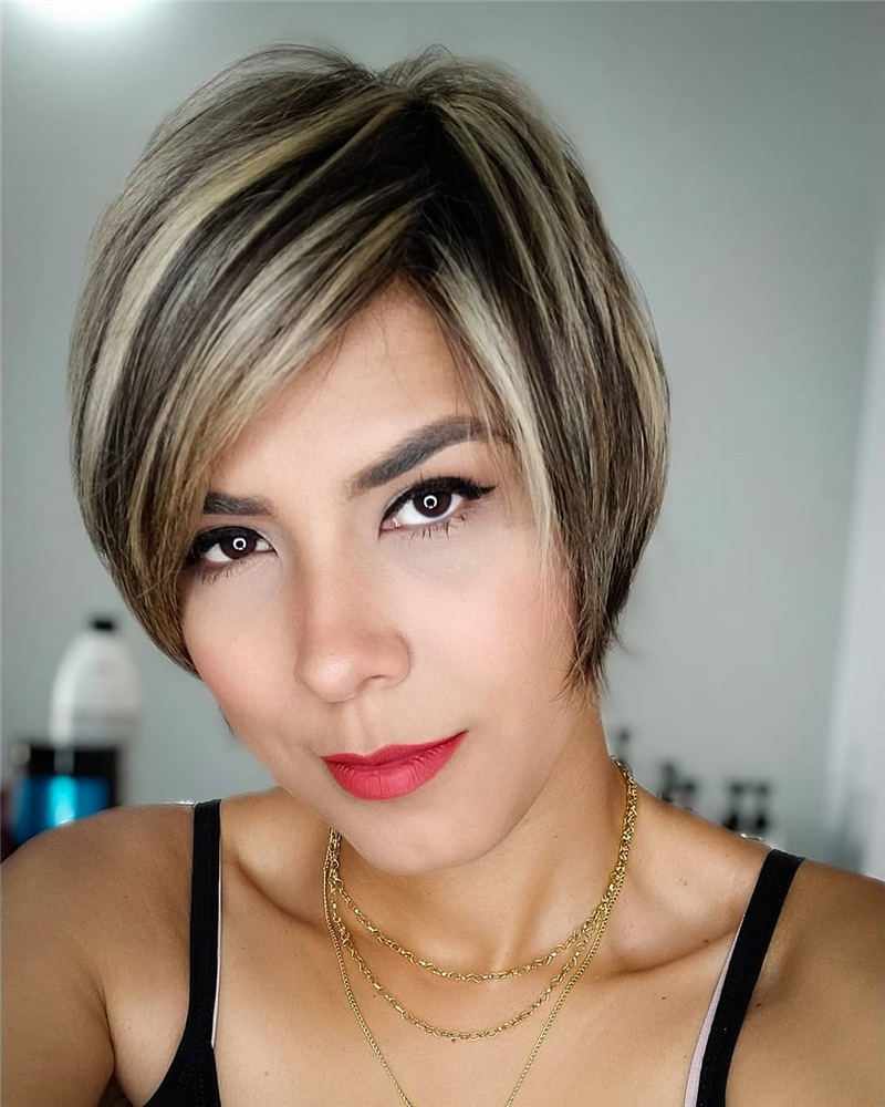 Best Short Bob Hairstyles Haircuts You Need to Try 34