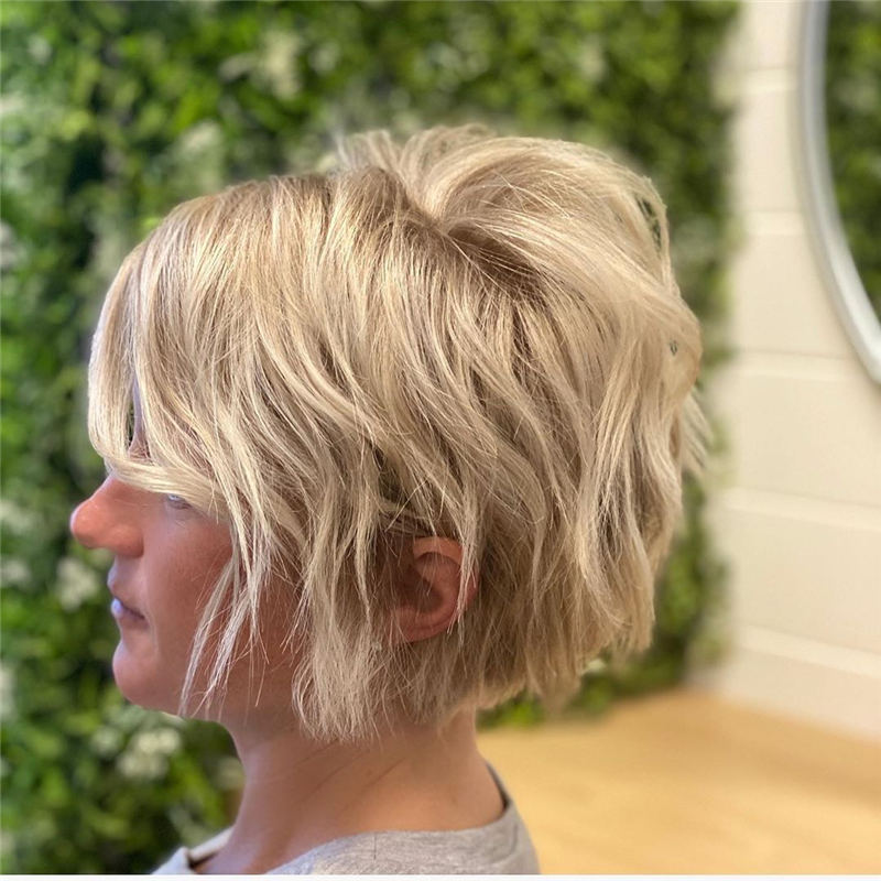 Best Short Bob Hairstyles Haircuts You Need to Try 38