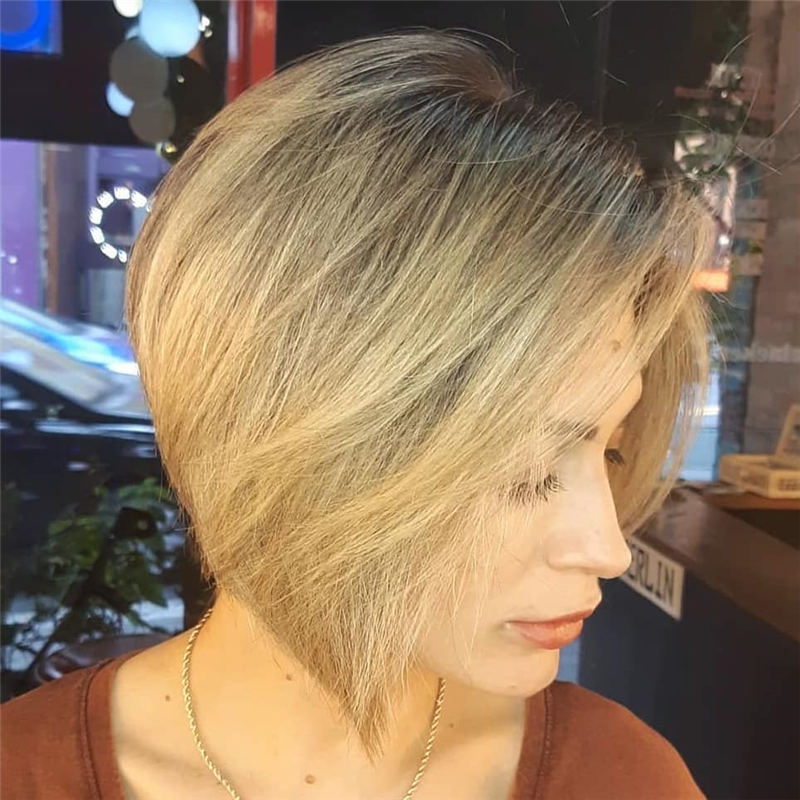 Best Short Bob Hairstyles Haircuts You Need to Try 40