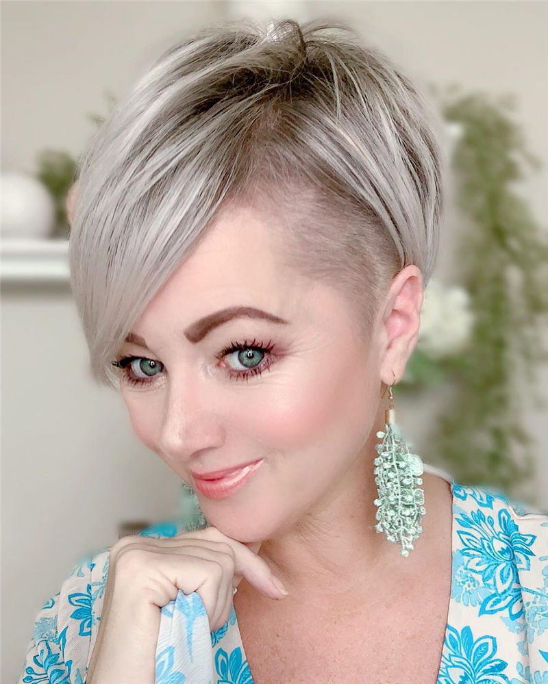 Great Pixie Haircuts for Women 2020 55