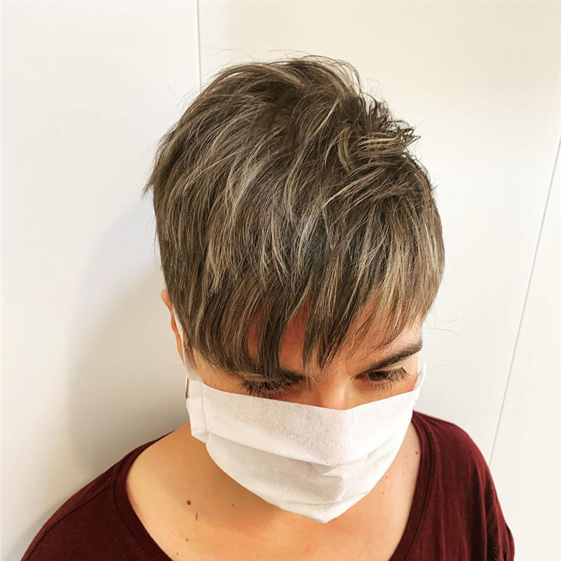 Great Pixie Haircuts for Women 2020 69