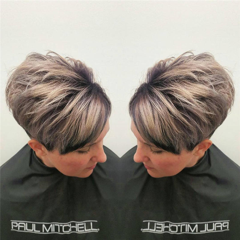 Latest Short Sassy Haircuts for 2020 47